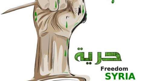 Syrian youth believed in freedom, and took the world by force