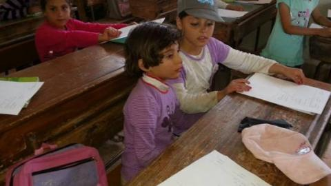 The first fruits of the revolution: New schools open in Syria