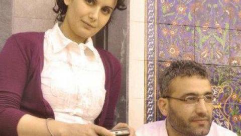 Activists Rami Hanawi and Keffah Deeb