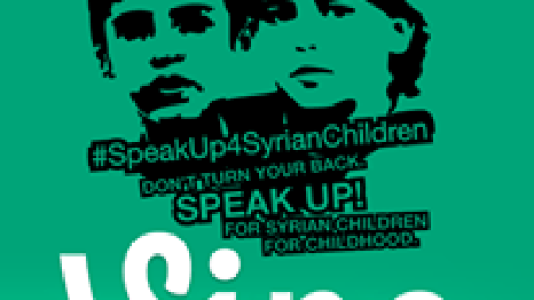 Speak Up for Syrian Children