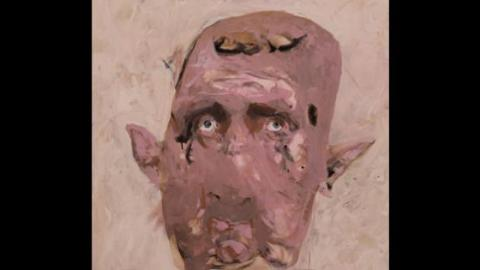 Bashar al-Assad, by Monif Ajaj. Source: Ajaj´s facebook page.