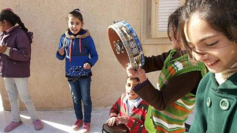 The Healing Effects of Capoeira on Syrian Children