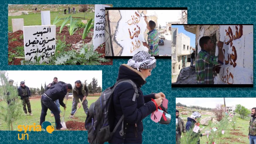 Idlib Commemorates Three Years of Revolution