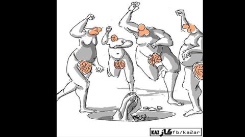 حادثة الرجم: علمانيون يرفضون وإسلاميون يتجادلون