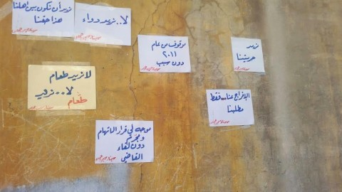 Hunger Strike in Homs Central Prison