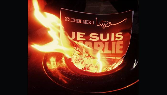 ملصق من صحيفة سوريتنا ردا على حرق الصحف. المصدر: صحيفة سوريتنا