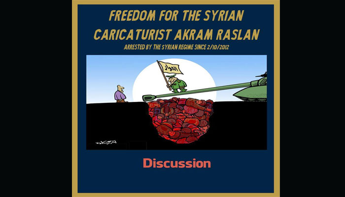 Freedom for Akram Raslan