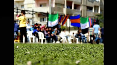 بالصور: رغم الحصار في حي الوعر: الوثبة والكرامة يتابعان مبارياتهما