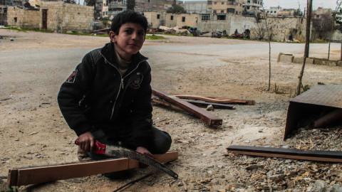 بما يحلم أطفال سوريا في الحرب؟