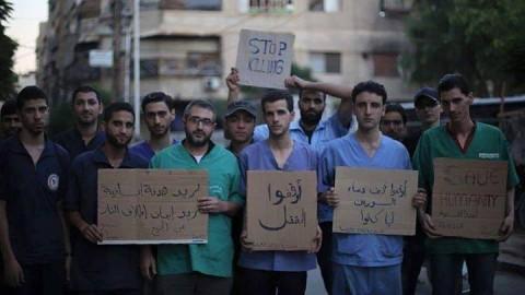 """""""أوقفوا القتل"""": صوت المدنيين في دوما"""