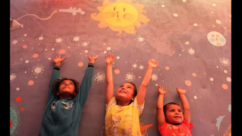 Diala Brisly Dreams with Syrian Children