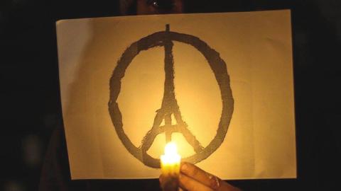 الغوطة الشرقية تتضامن مع باريس