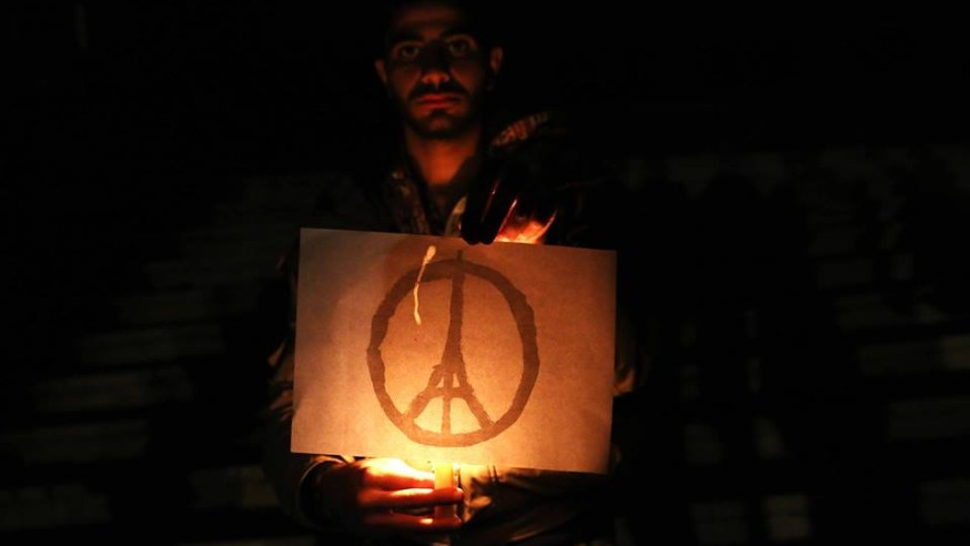 Douma in Solidarity with Paris