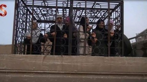 Between the Regime's Detainees and Alloush's Cages
