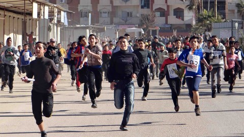Freedom Marathon in Homs