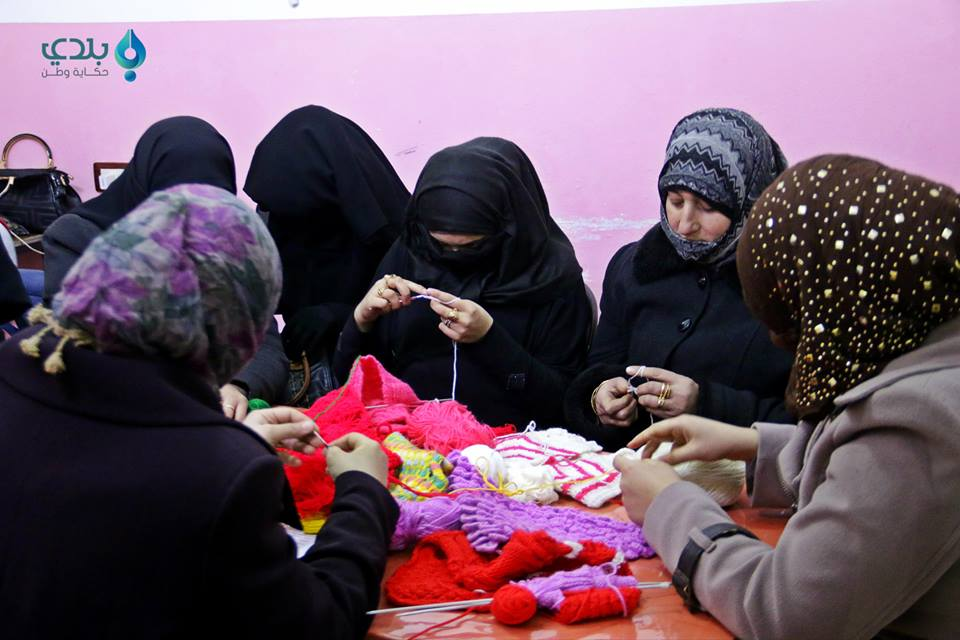 Textile Course/Source: Women Now Center in Ma'arat al-Nouman, Facebook