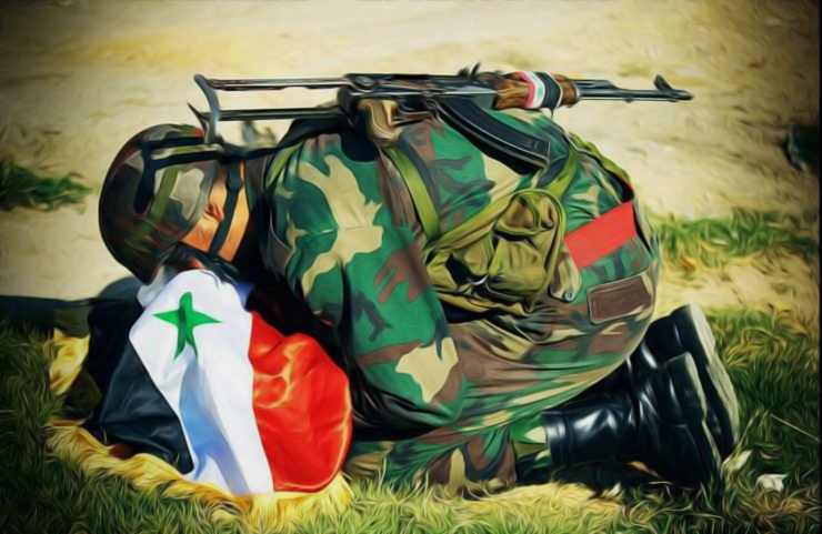 "[Painting: ""Fighting for Truth in Syria"" - 25-4-2014. (Sheykh1/CC BY-ND 3.0)]."