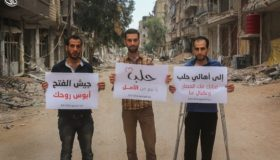 Sit-ins and Protests from Aleppo to Suwayda'