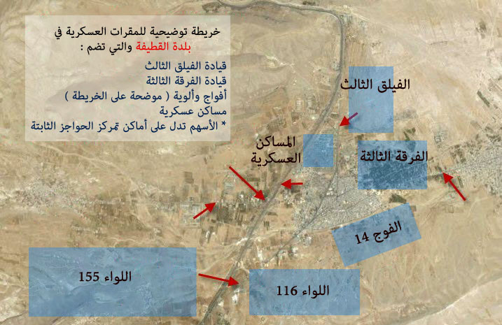 المصدر: الموقع الرسمي لاتحاد تنسيقات الثورة السورية.